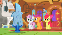 The Cutie Mark Crusaders couldn't make a table S01E17