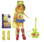 Applejack Equestria Girls Rainbow Rocks doll with accessories
