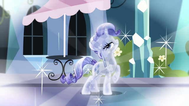 File:Rarity as Crystal Pony fantasy S3E1.png