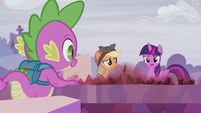 "Twilight ""figure out when everything changed"" S5E25"