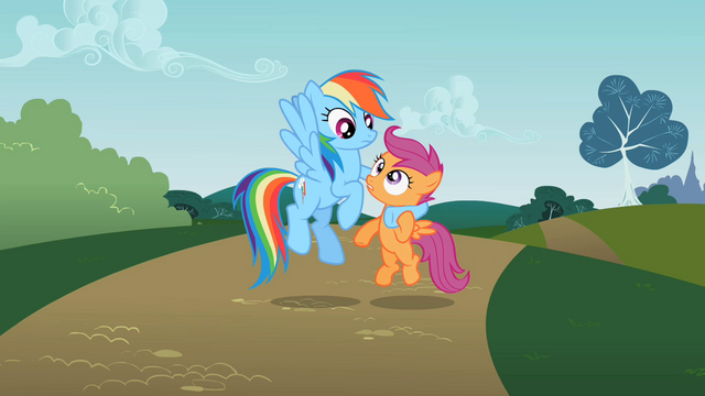 File:Rainbow Dash holding Scootaloo S2E08.png