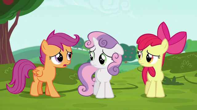 "File:Scootaloo ""no matter what I say"" S6E14.png"