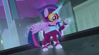 Twilight Sparkle as Masked Matter-Horn S4E06