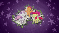 Cutie Mark Crusaders glowing bright BFHHS4