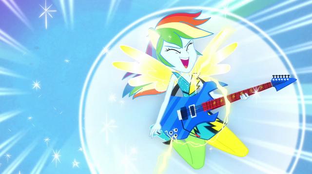 File:Rainbow Dash transformation EG2.png