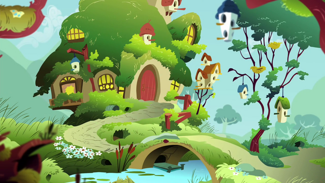 File:Fluttershy's cottage S4E16.png