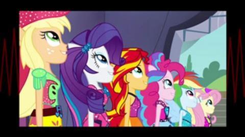 Latino Equestria Girls Rainbow Rocks Shine Like Rainbows HD
