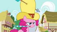 Pinkie Pie blowing party hooter S4E12