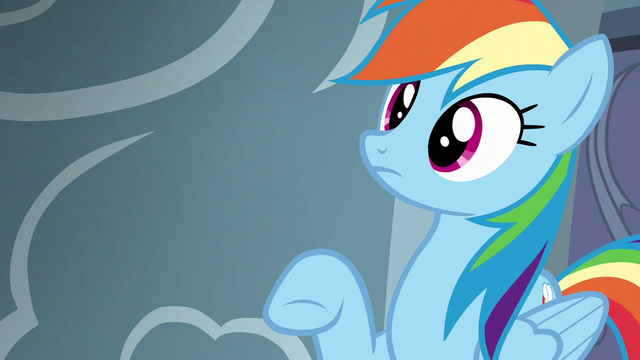 File:Rainbow Dash hears Pinkie Pie S6E7.png