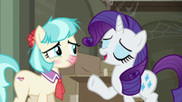 "Rarity ""I'm so glad to see you!"" S6E9"