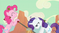 Rarity puffed S02E14