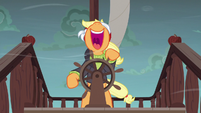 Applejack laughing mad S6E22