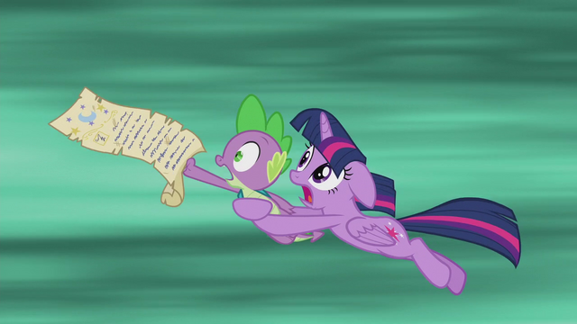 File:Twilight and Spike traveling through time S5E25.png