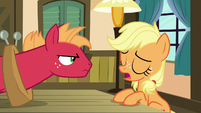 "Young Applejack ""it worked, didn't it?"" S6E23"