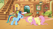 Rainbow Dash with Fluttershy S2E22