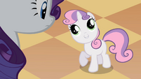 Sweetie Belle 'Clean it up' S2E05