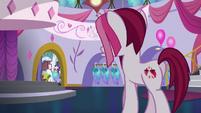 Posh Pony enters Canterlot Carousel S5E14