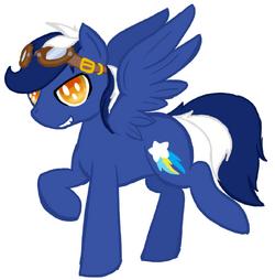 FANMADE Blue Blaze OC4