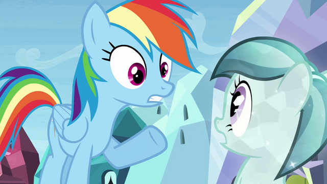 "File:Rainbow Dash ""crushing wave of disappointment"" S03E12.png"