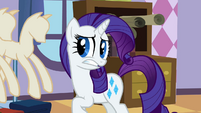 Rarity awkward face S2E5