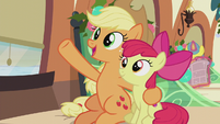 "Applejack ""we'll hang our Hearth's Warmin' dolls"" S5E20"