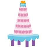 Canterlot Castle cake
