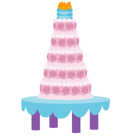 File:Canterlot Castle cake.png