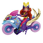 Friendship Games Motocross Bike and Sporty Style Sunset Shimmer