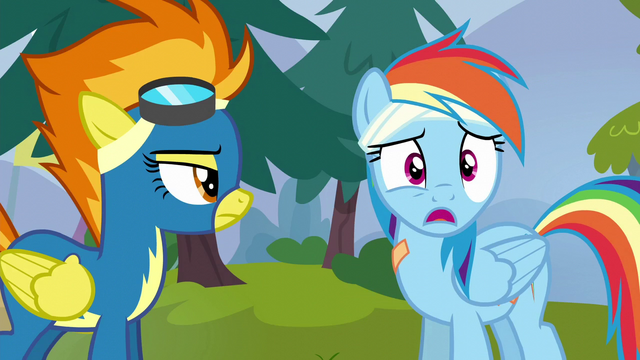 File:Rainbow Dash stammers in surprise S6E7.png