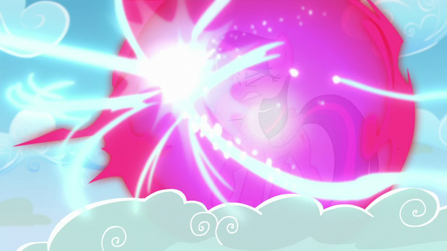 File:Twilight and Spike protected by bubble shield from Starlight's beam S5E26.png