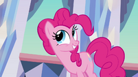 Pinkie Pie innocent smile S03E12