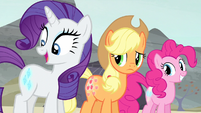 "Rarity ""I think it's divine"" S5E2"