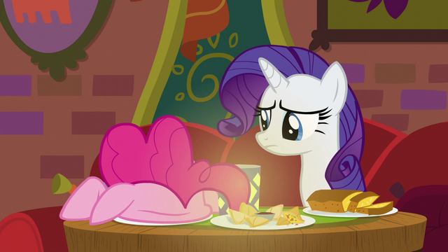 File:Rarity watches Pinkie stuff her face S6E12.png
