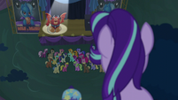 Starlight watching the Manticore Mouth Dive S6E6