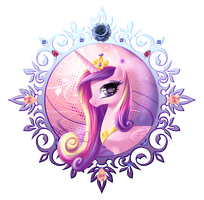 "File:FANMADE ""Cadance Portrait"" by fantazyme.png"