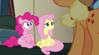 "Fluttershy confused ""we don't?"" S6E18"