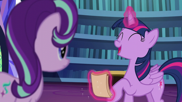 "File:Twilight ""the first pony you ever cared about"" S6E1.png"