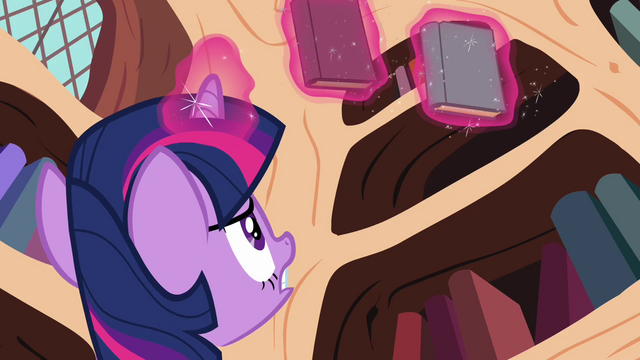File:Twilight still trying to find the book S3E01.png