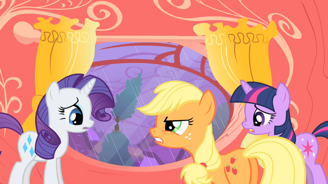 File:Applejack telling Rarity I told you so S1E08.png