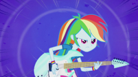 Rainbow Dash shredding faster EG2