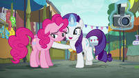 "Rarity ""so glad to hear that!"" S6E3"