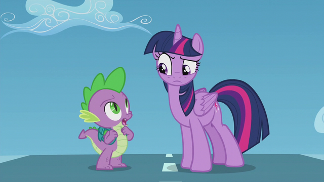 "File:Spike ""isn't that Rainbow Dash?"" S5E25.png"