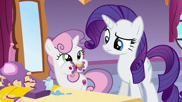 "File:Sweetie Belle ""better than the cake cake"" S6E15.png"