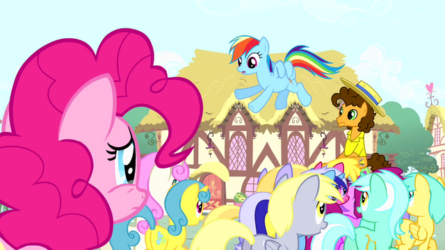 File:Rainbow 'no offense, Pinkie' S4E12.png