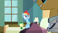 Rainbow Dash blanket2 S02E16