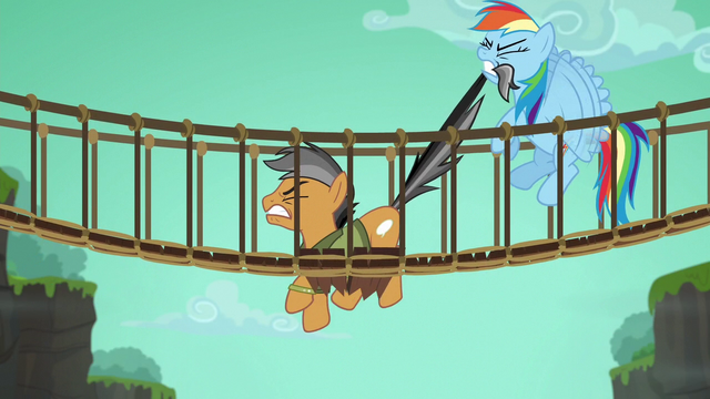 File:Rainbow tries to pull Quibble out of the bridge S6E13.png
