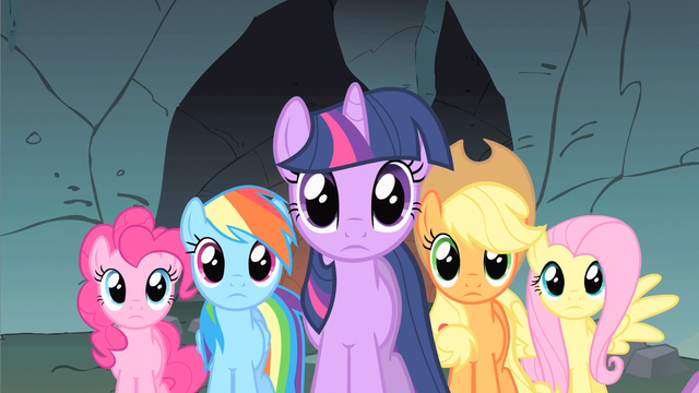 File:Rainbow Dash & rest speechless S1E19.png