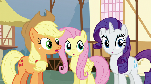 "File:Applejack ""what's the first clue?"" S5E19.png"