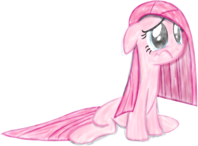 File:FANMADE Sad Pinkamena Pie.png