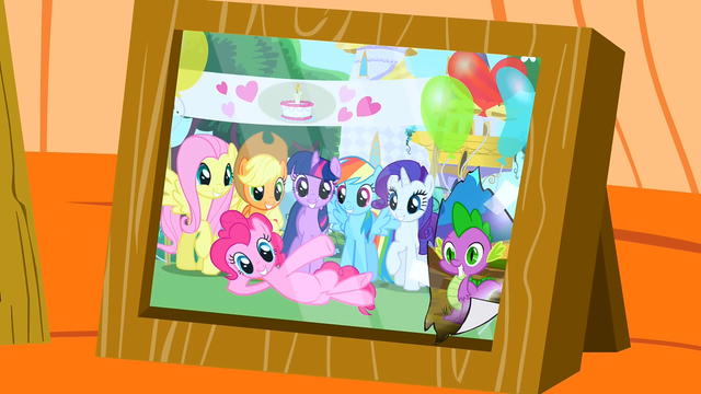 File:Main six photo with Spike pasted on S2E21.png